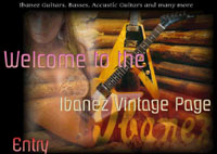 Ibanez Vintage Page - catalog scans and more for the Ibanez Collector.