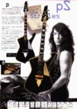 Ibanez Iceman Catalog Scan - from Japanese catalog
