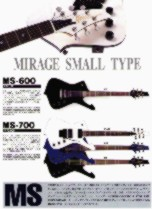 Greco Mirage Guitars