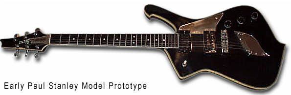 Paul Stanley Prototype, Very early, possibly the first one made for Paul