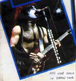 Paul Stanley playing a Greco Artist model